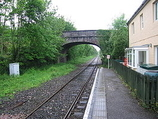 Wikipedia - Newton St Cyres railway station