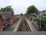 Wikipedia - Urmston railway station