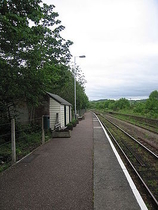 Wikipedia - Yeoford railway station
