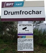 Wikipedia - Drumfrochar railway station